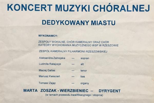 Maciej Gallas plakat archiwalny 1994