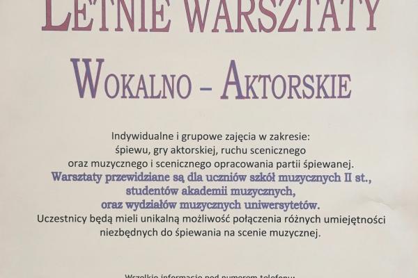 Maciej Gallas plakat archiwalny 2014