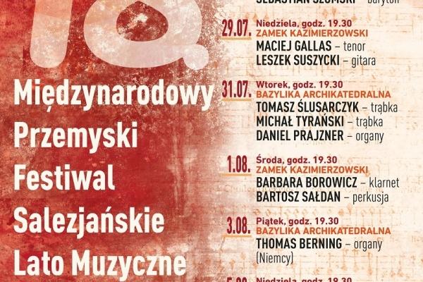 Maciej Gallas plakat archiwalny 2018